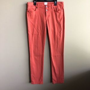 Rich & Skinny Coral button fly skinny jeans 29